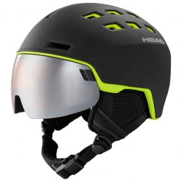 KASK HEAD 19/20 RADAR BLACK LIME M/L