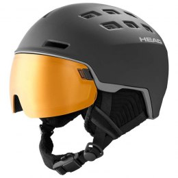 KASK HEAD 19/20 RADAR POLA BLACK XL/XXL
