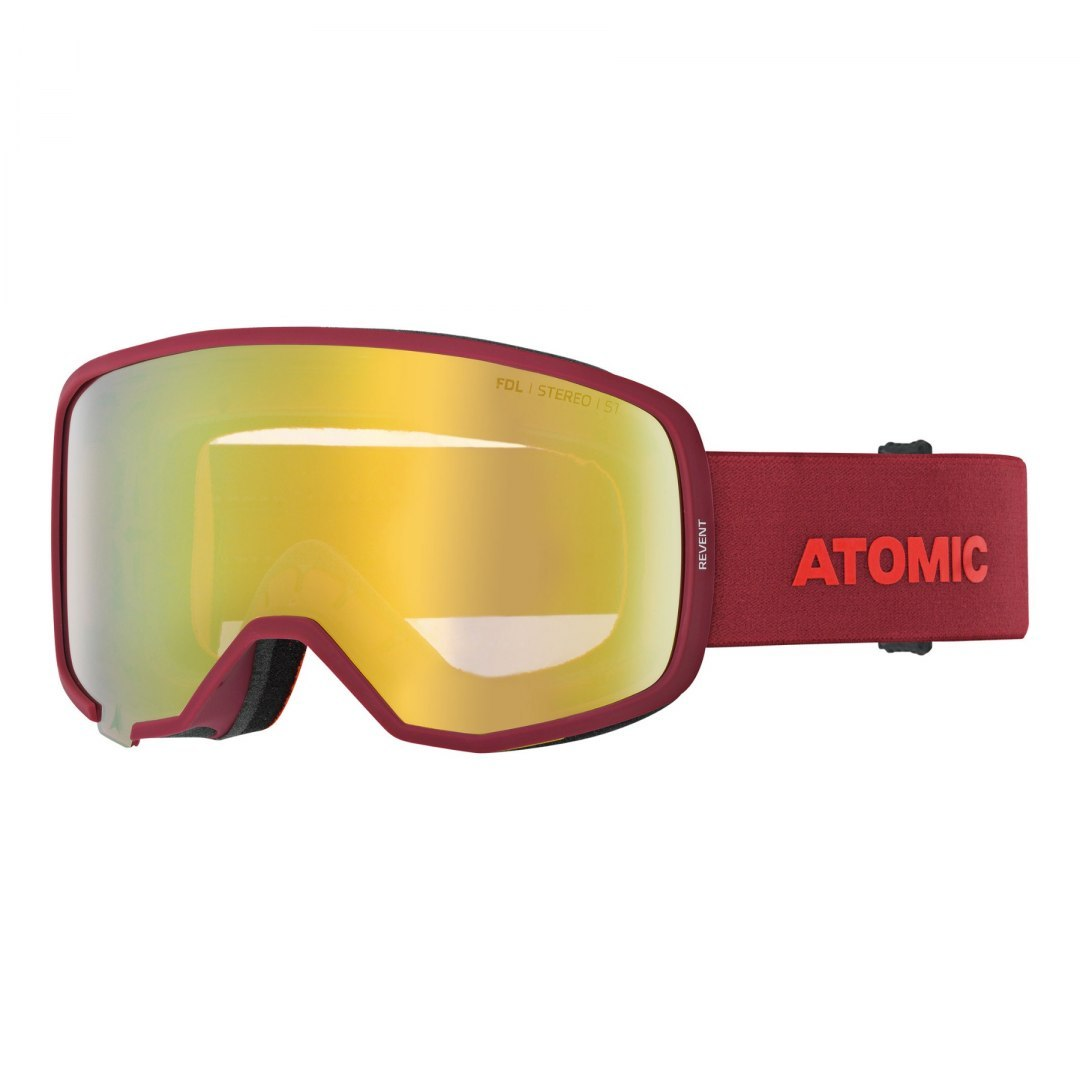 Gogle Atomic 19/20 Revent Stereo red